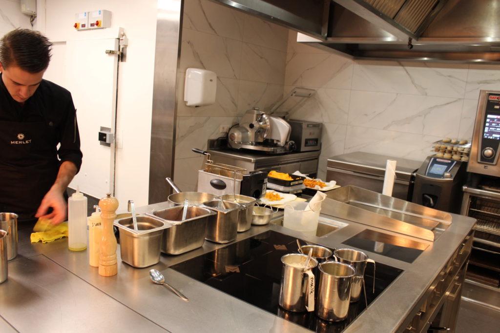 Jonathan Zandbergen over nieuwe keuken Merlet