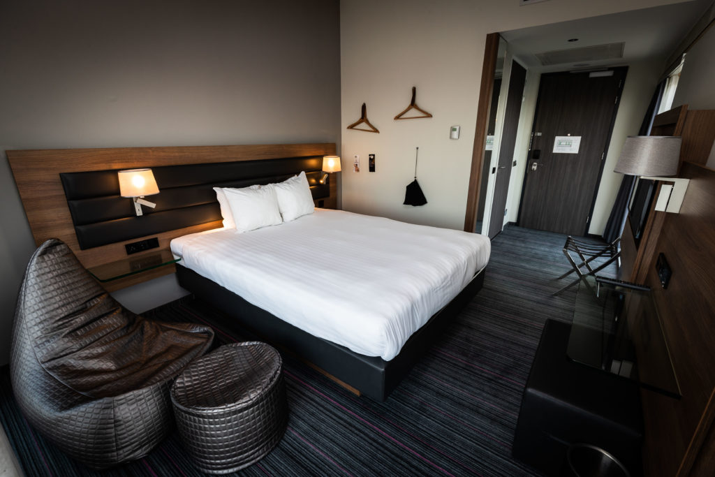 Duo-branded hotel