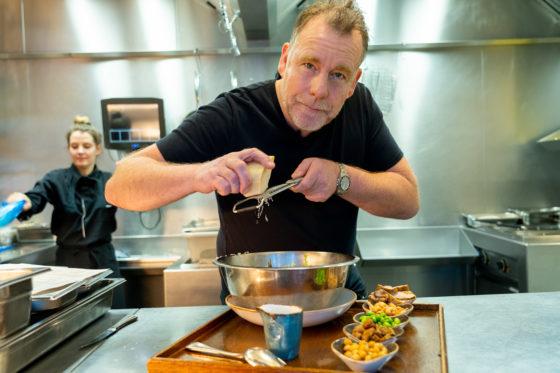 Drie terrasrecepten van chef-kok Ron Blaauw*