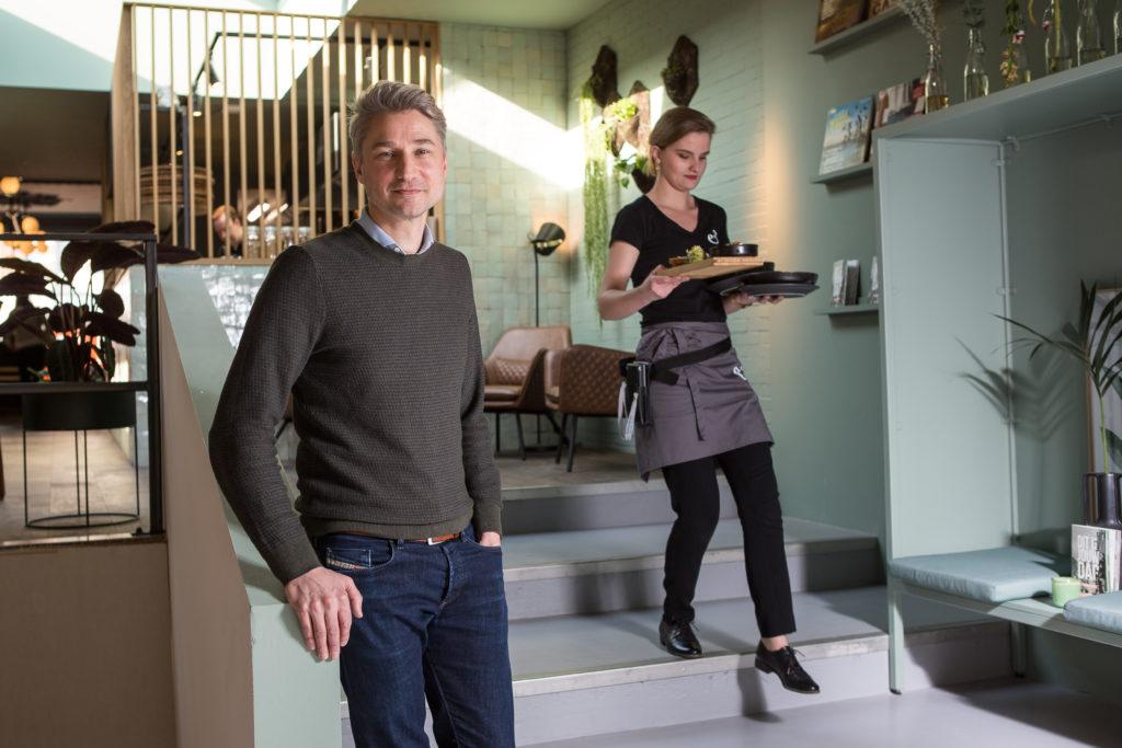 Anne & Max oprichter Wobbe van Zoelen
