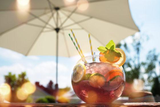 Naar welke dranken is de meeste vraag op het horecaterras?