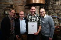 Stibon reikt 200e biersommelierdiploma uit