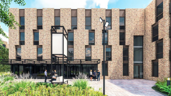Nieuwbouw studentenhuisvesting Hotel Management School Maastricht van start