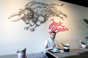 Jack Bean 'Geen groene meisjeszaak'