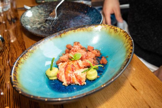 Bloody mary granite - spicy avocado crème - zeekraal, The Harbour Club Vinkeveen ©evenhauzphotography