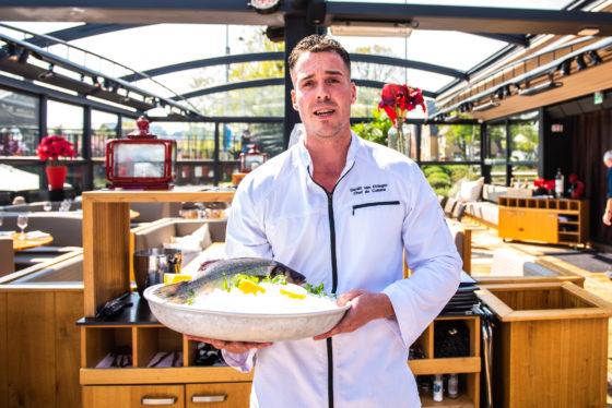 Daniël van Ettinger, Chef de Cuisine The Harbour Club Zuid ©evenhauzphotography