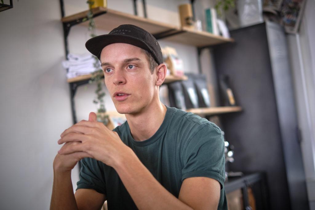 Rob Clarijs, winnaar Coffee Masters Londen 2019
