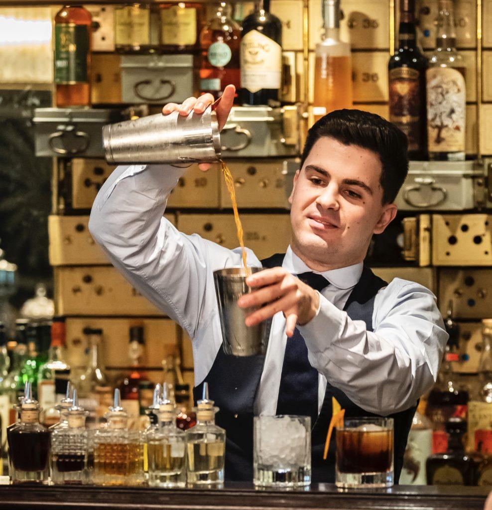 Waldorf Astoria Amsterdam - bartender Meric Vault Bar