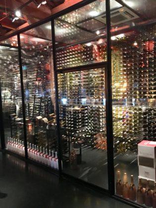 Wijnklimaatkast voor 3000 flessen Harbour Club Amsterdam Oost