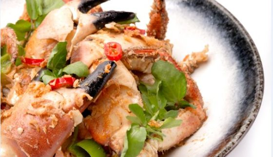 Recept Vis & Seizoen: In bier gestoomde krab