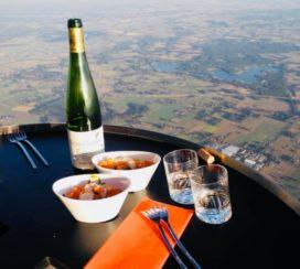 16de seizoen van luchtballonrestaurant van start