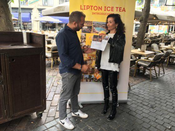 Birgit Schuurman presenteert de Lipton Terrasgids