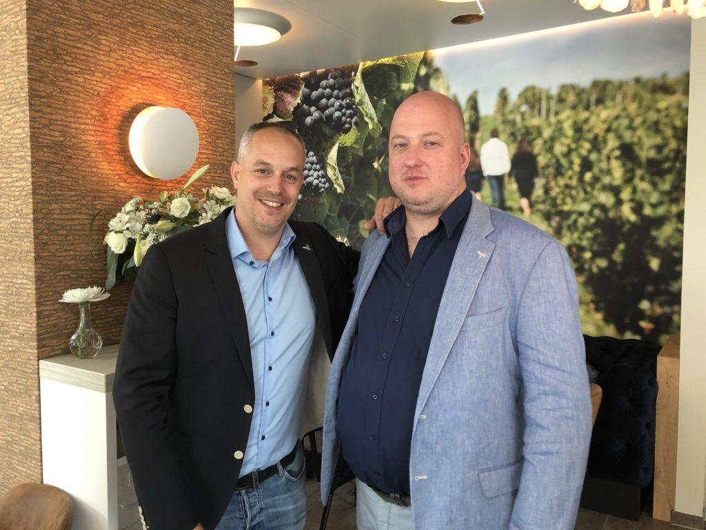 Rik Jansma en Marko Karelse