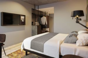 Alexander Peulen GM nieuwe Hotel the niu Fender Amsterdam