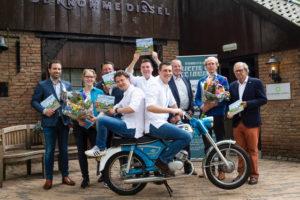 Sous-chefs Kromme Dissel maken samen kookboek