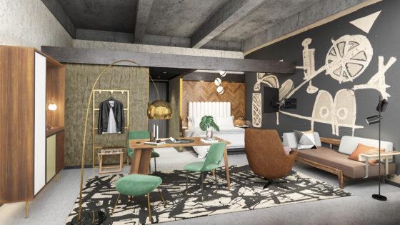 Binnenkijken bij design boutique hotel The Slaak Rotterdam
