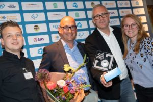 Cateringconcept Vital4Skool wint NFV Franchise Trofee