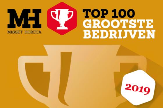 Ranglijst Horeca Top 100 2019: de grootste horecabedrijven van Nederland