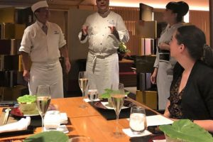 Sterchef Conrado Tromp kookt Kaiseki-stijl in Osaka