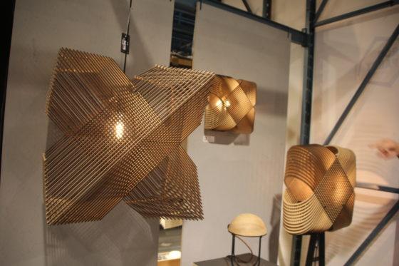 Diverse sta-, hang en wandlampen van Alex Groot Jebbink. Verkrijgbaar bij het Lichtlab.