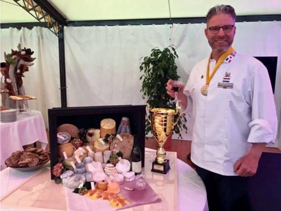 Maître Fromager Evert Schönhage wint WK voor kaasmeesters