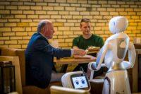 Horeca robotica</strong><br> robots moeten gastvrijheid Dadawan verhogen