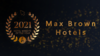 Max Brown Hotels wint verkiezing Hotel Website of the Year 2021
