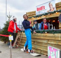 Take-away wintersportbar Heidi's geopend