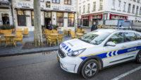 Protestactie in beeld: terrassen uitzetten in Maastrichtse horeca